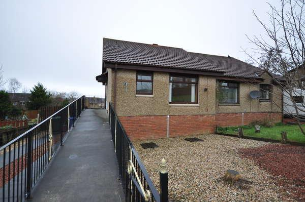 1 Bedroom Semi Detached Bungalow for sale in 99 Bridgehousehill Road, Kilmarnock, KA1 4QB
