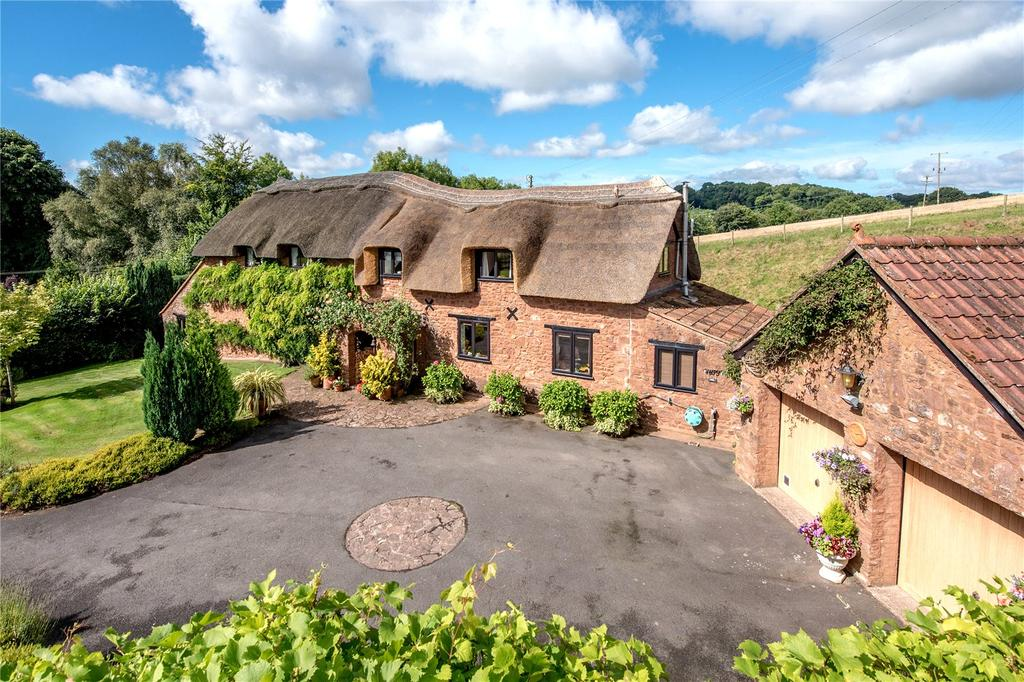 4 Bedrooms Detached House for sale in Combe Florey, Taunton, Somerset
