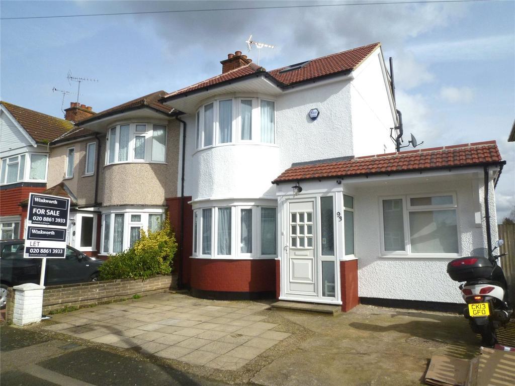 4 Bedrooms End Of Terrace House for sale in Beverley Road, Ruislip, HA4