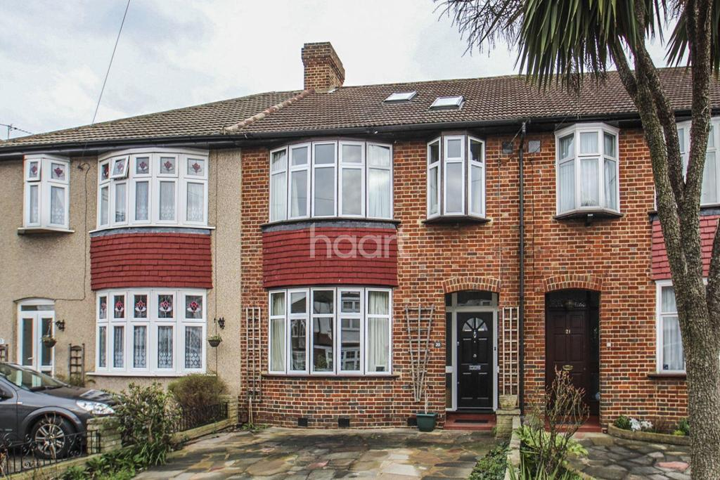 3 Bedrooms Terraced House for sale in Berrylands, Raynes Park, London, SW20