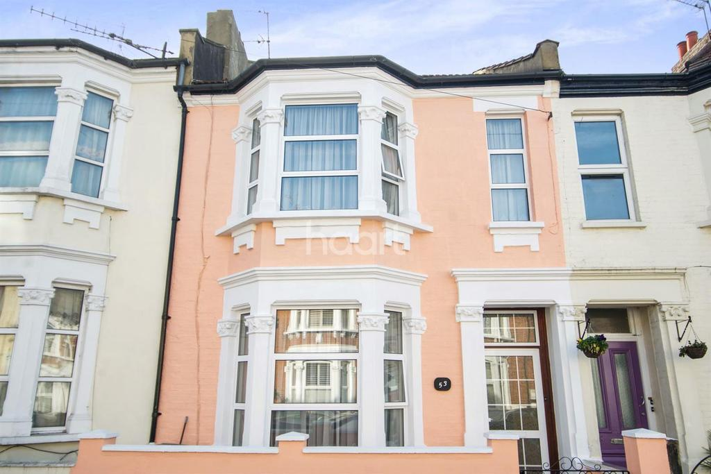 3 Bedrooms Terraced House for sale in Burns Road, NW10
