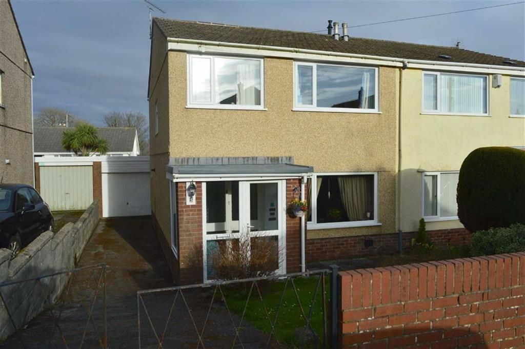 3 Bedrooms Semi Detached House for sale in The Orchard, Newton, Swansea