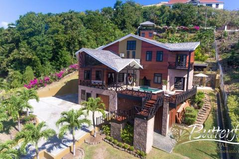 3 bedroom detached house - Anse La Raye, St Lucia, St Lucia
