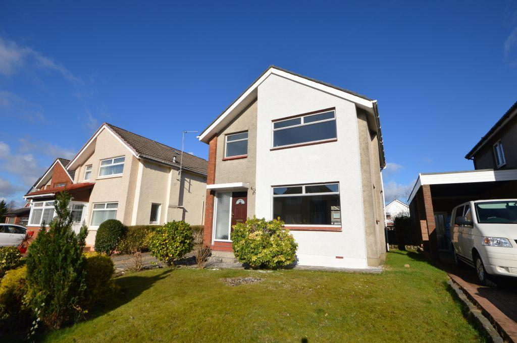 3 Bedrooms Detached Villa House for sale in 11 Yarrow Road, Bishopbriggs, Glasgow, G64 3NE
