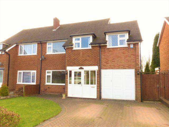 4 Bedrooms Semi Detached House for sale in Northgate,Aldridge,Walsall