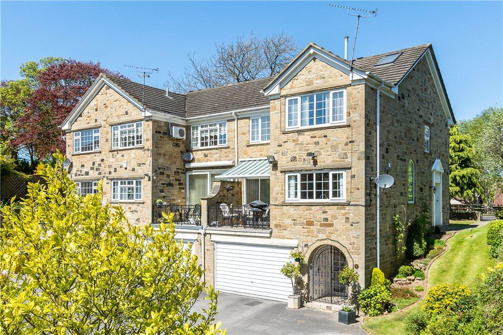 4 Bedrooms Town House for sale in Langwith Mews, Off Highcroft, Collingham, Wetherby, West Yorkshire