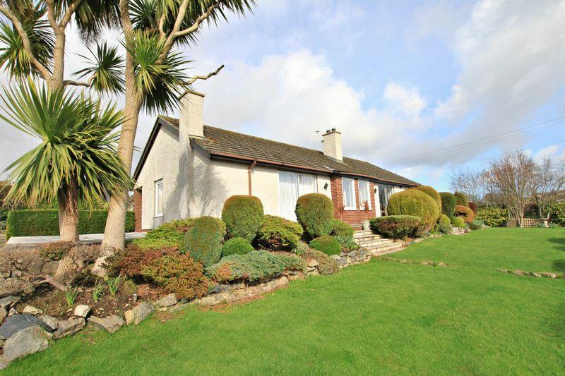 4 Bedrooms Detached Bungalow for sale in Llandegfan, Anglesey