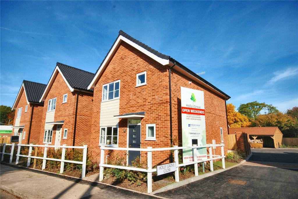 3 Bedrooms House for sale in Ringwood Road, Alderholt, Fordingbridge, Hampshire, SP6