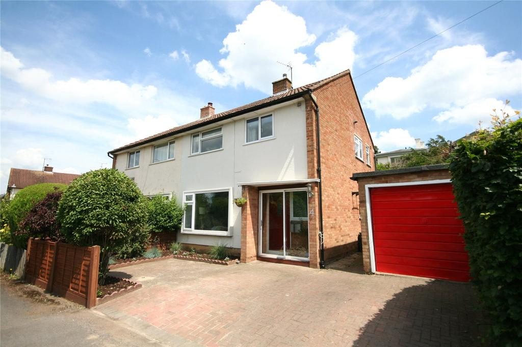 3 Bedrooms Semi Detached House for sale in Cleevelands Close, Pittville, Cheltenham, GL50