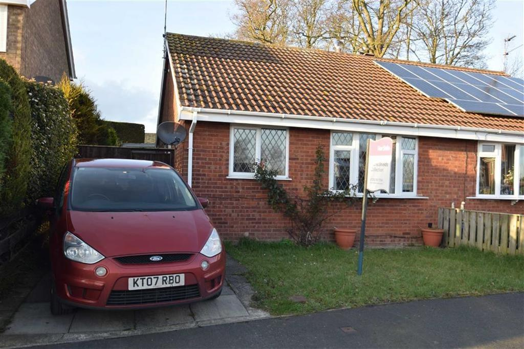 2 Bedrooms Semi Detached Bungalow for sale in Headlands Close, Bridlington, East Yorkshire, YO16