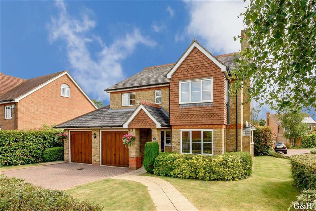 4 Bedrooms Detached House for sale in Millstream Green, Ashford, Kent