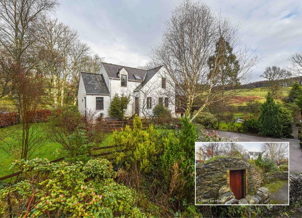 3 Bedrooms Detached House for sale in Icehouse Cottage, Newton Stewart, Dumfries and Galloway, DG8