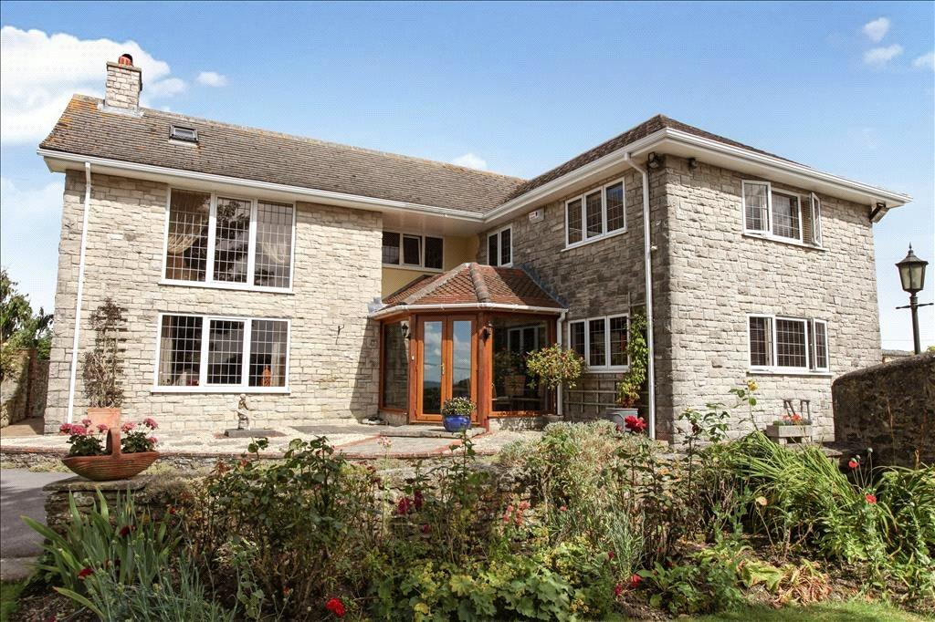 4 Bedrooms Detached House for sale in Boyne Mead Farmhouse, Cann, Shaftesbury, Doset, SP7
