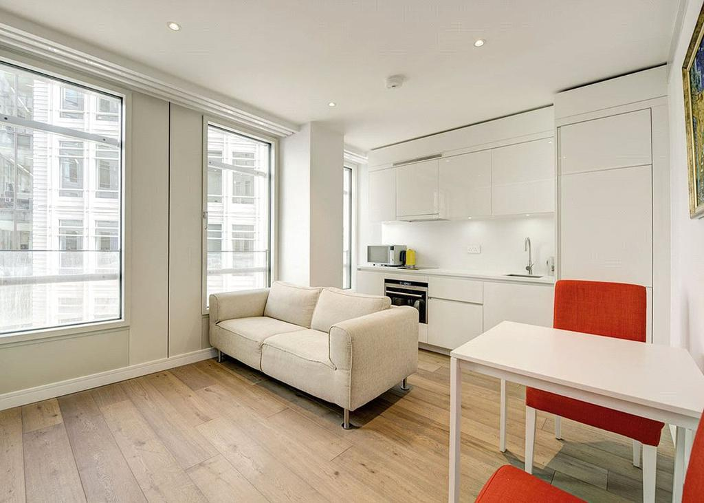 1 Bedroom Flat for sale in Central St. Giles Piazza, Covent Garden, London, WC2H