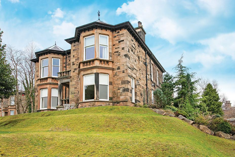 3 Bedrooms Flat for sale in Earnscliff 9 Sherbrooke Drive, Pollokshields, G41 5AA