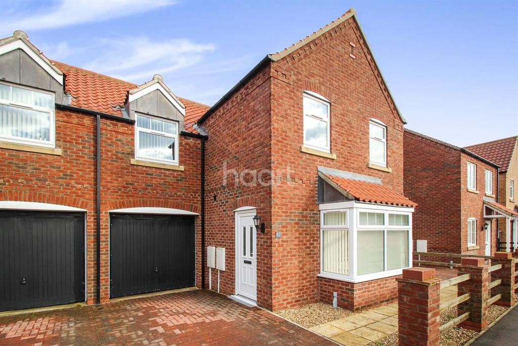 3 Bedrooms Semi Detached House for sale in Fen Road, Heighington, LN4