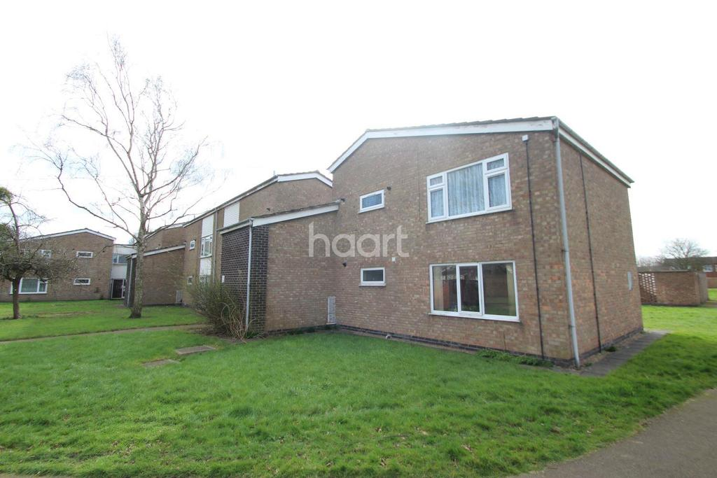 1 Bedroom Flat for sale in Oakham Close, Loughborough