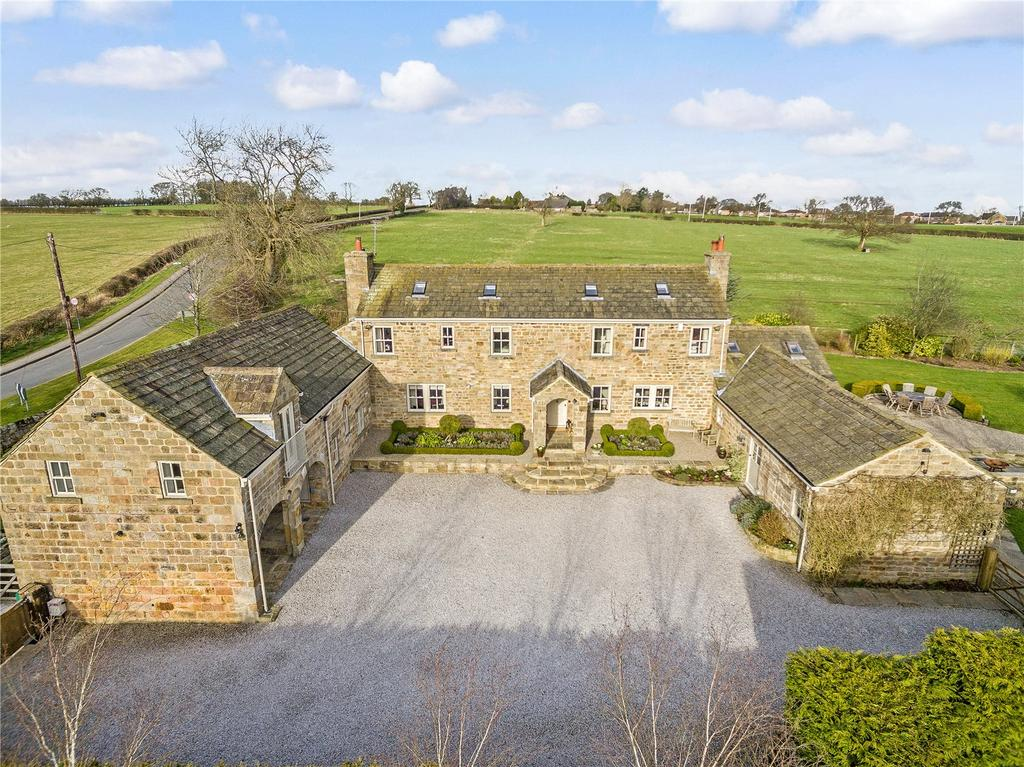 5 Bedrooms Detached House for sale in Whinney Lane, Lund House Green, Harrogate, North Yorkshire
