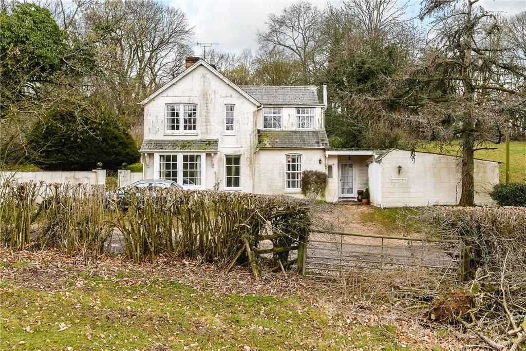 4 Bedrooms Detached House for sale in Andrews Lane, Ropley, Alresford, Hampshire, SO24