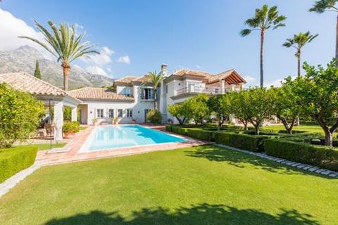 6 bedroom villa  - Marbella Hill Club, Marbella, Malaga