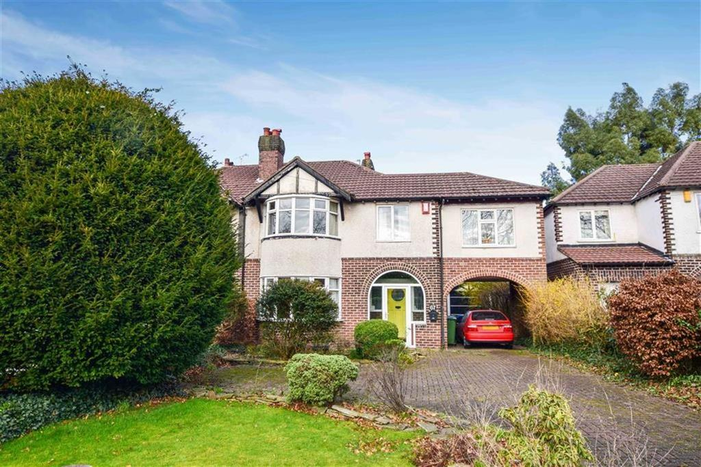 3 Bedrooms Semi Detached House for sale in Park Road, Timperley, Cheshire, WA15