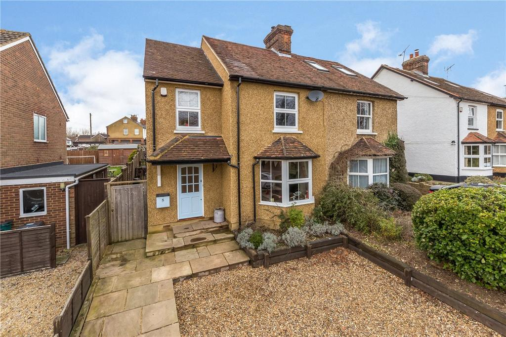 4 Bedrooms Semi Detached House for sale in Common Lane, Harpenden, Hertfordshire