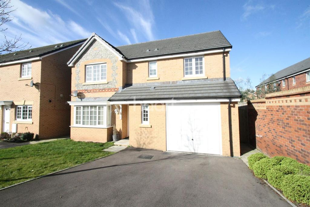 4 Bedrooms Detached House for sale in Shrewsbury Avenue, Monmouth, Monmouthshire
