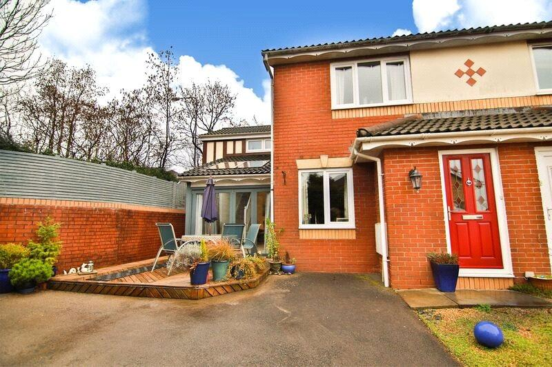 3 Bedrooms Semi Detached House for sale in Clos Nant Y Cwm, Pontprennau, Cardiff, CF23