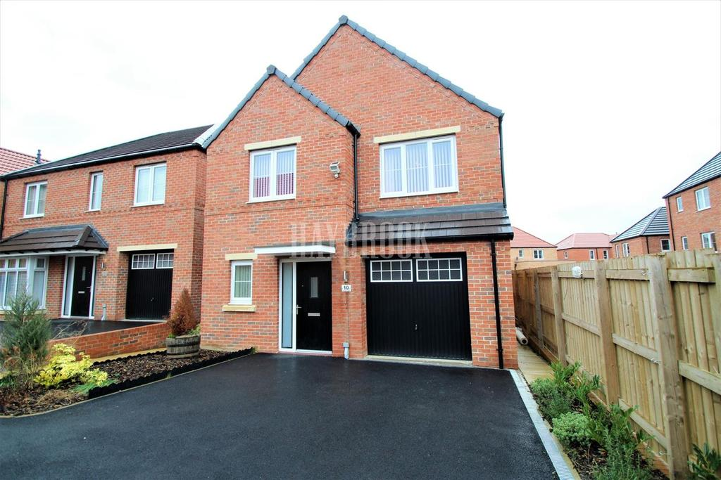 4 Bedrooms Detached House for sale in Avocet Close, Mexborough