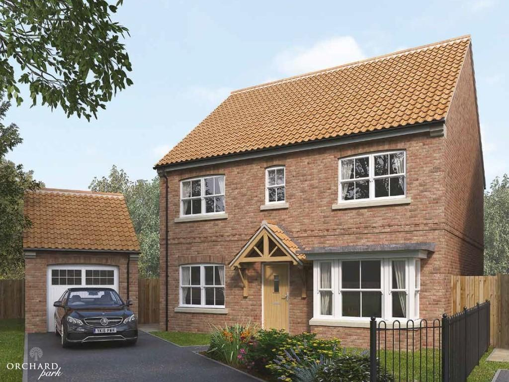 4 Bedrooms Detached House for sale in THE BERTRAM, ORCHARD VIEW, ULLESKELF,LS24 9DW