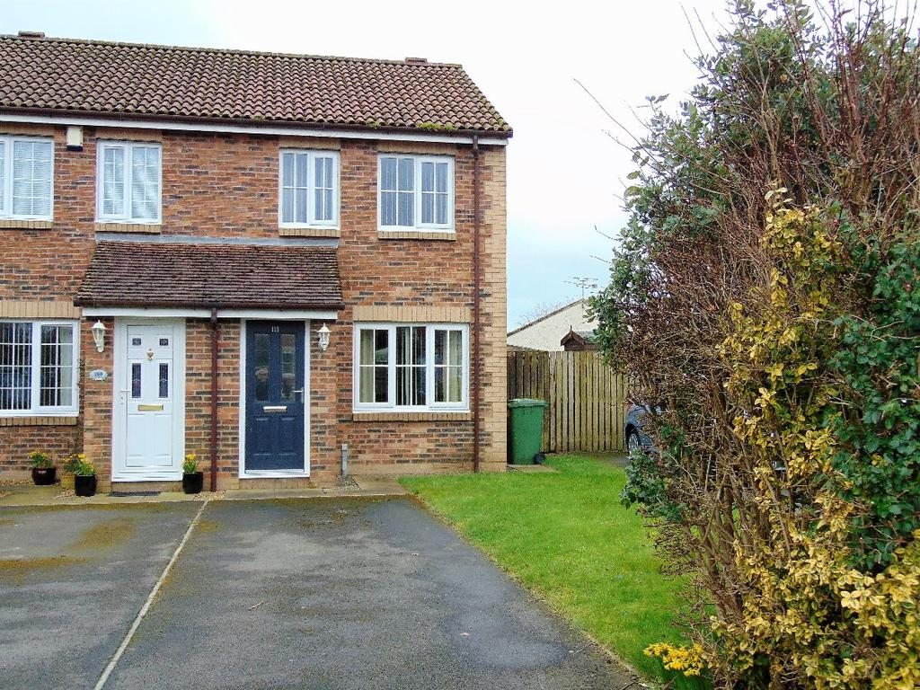 2 Bedrooms Semi Detached House for sale in 111 Church Meadows, Great Broughton, Cockermouth, CA13 0LE