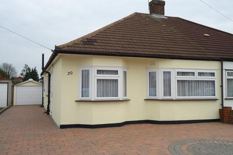 3 bedroom semi-detached bungalow to rent - Hornbeam Avenue, Upminster RM14
