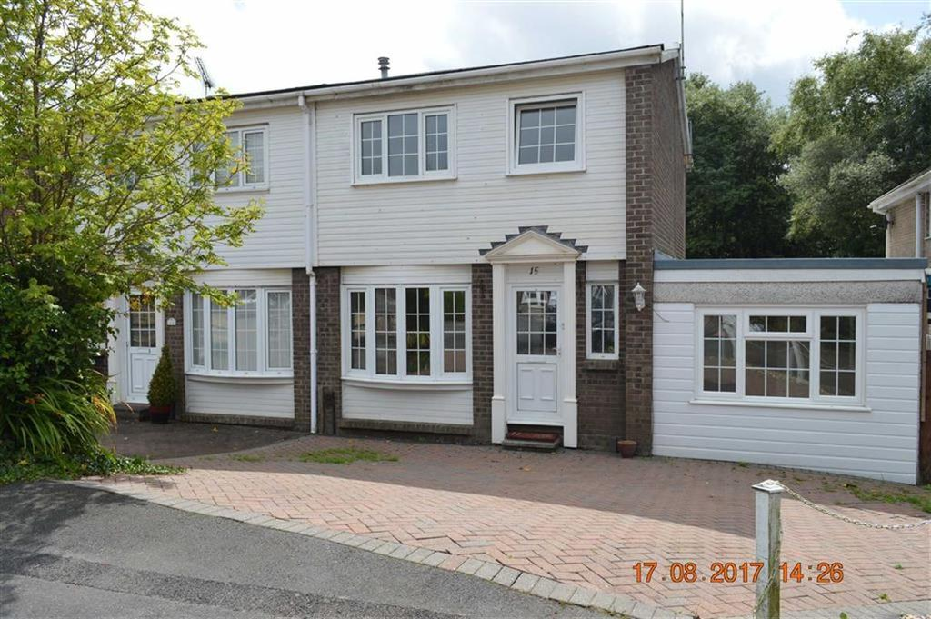3 Bedrooms Semi Detached House for sale in Clos Melyn Mynach, Swansea, SA4