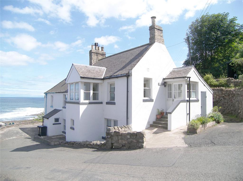 3 Bedrooms Terraced House for sale in Old Coastguard Cottage, Burnmouth, Eyemouth, Berwickshire