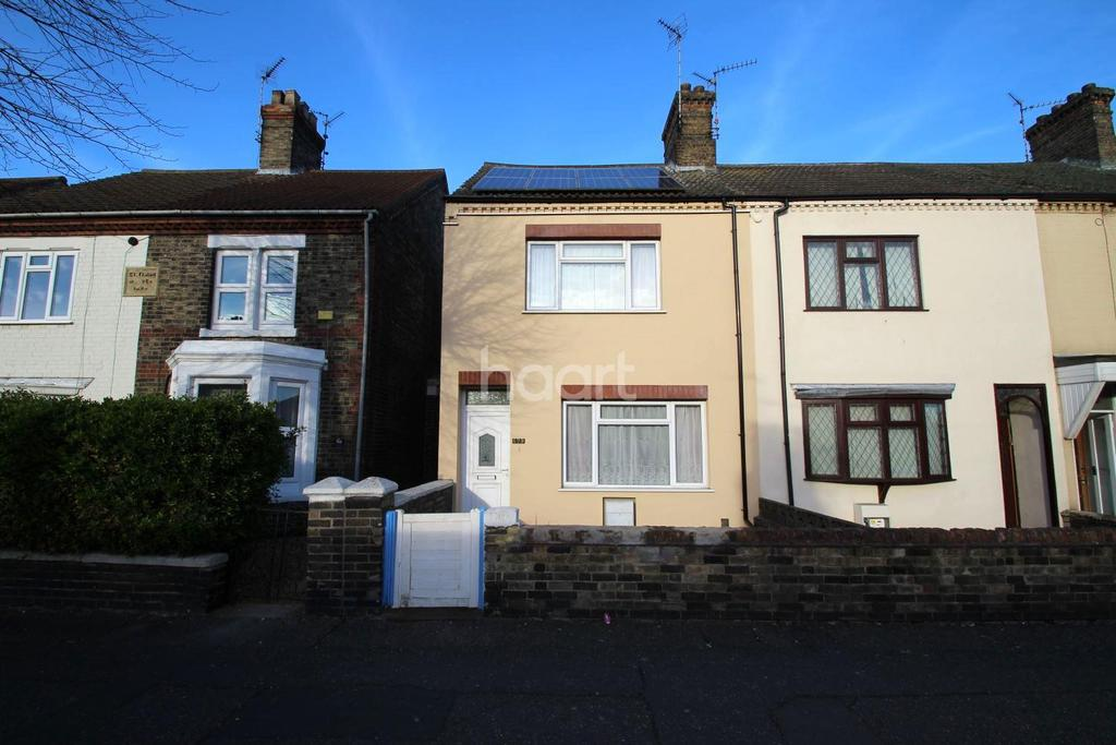 3 Bedrooms End Of Terrace House for sale in Lincoln Road, Peterborough