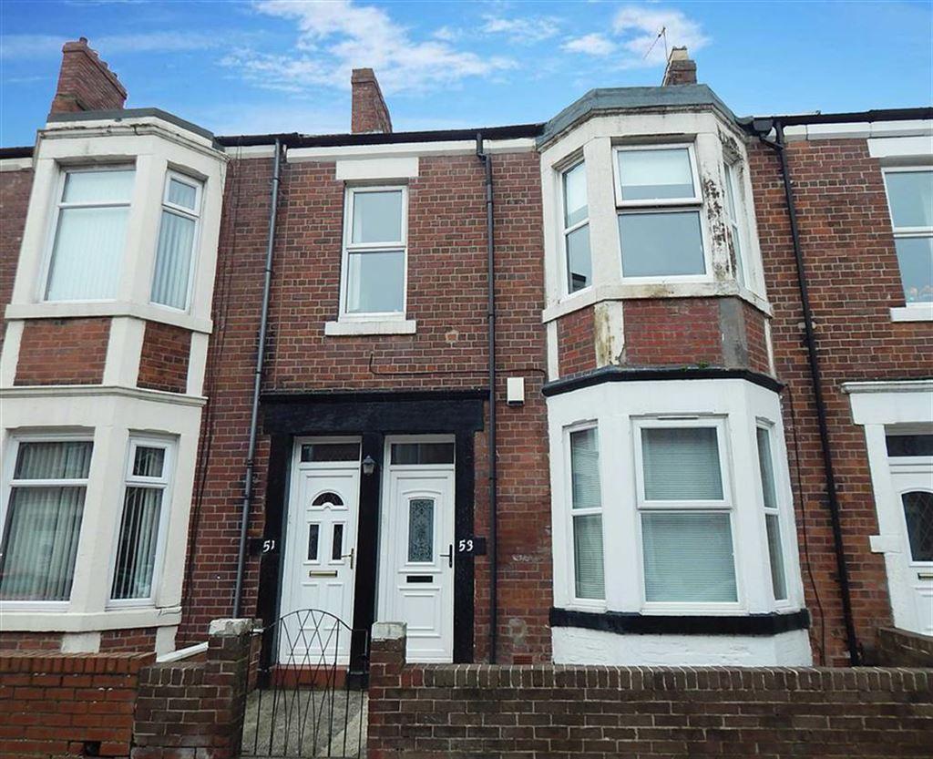 2 Bedrooms Apartment Flat for sale in Woodbine Avenue, Wallsend, Tyne Wear, NE28