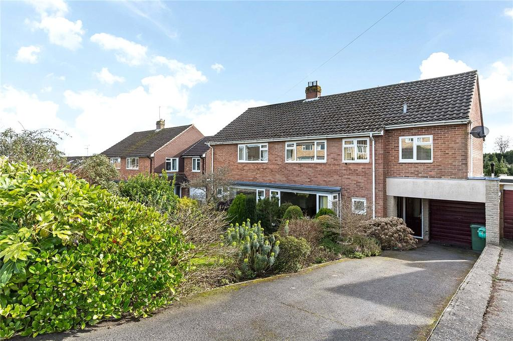 4 Bedrooms Semi Detached House for sale in Goring Field, Teg Down, Winchester, SO22