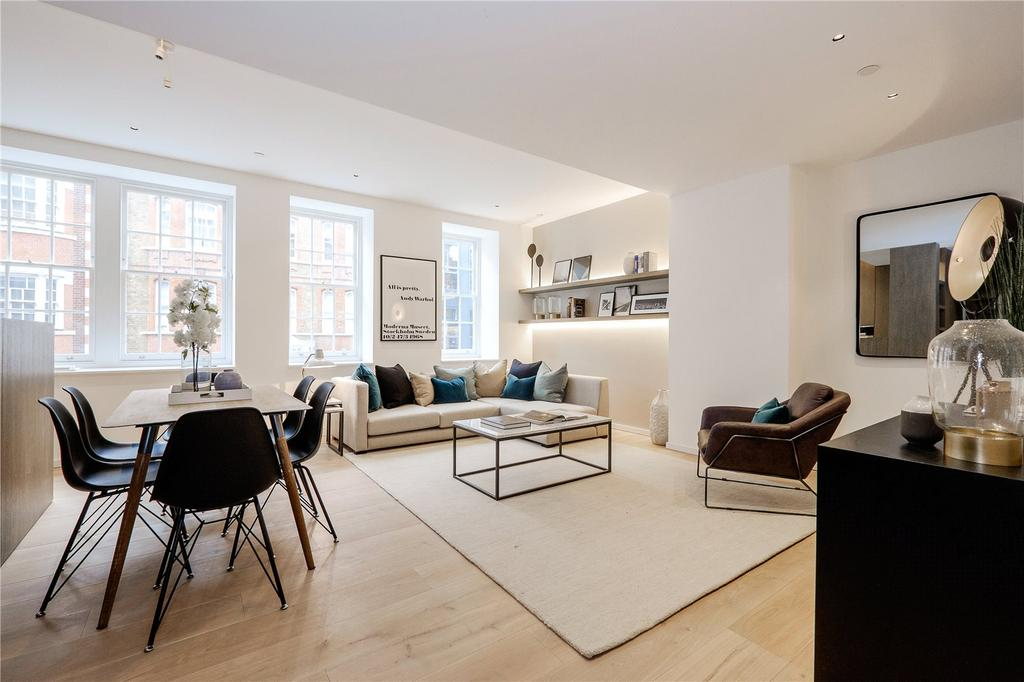 3 Bedrooms Flat for sale in Portland Lofts, Bolsover Street, Fitzrovia, London, W1W