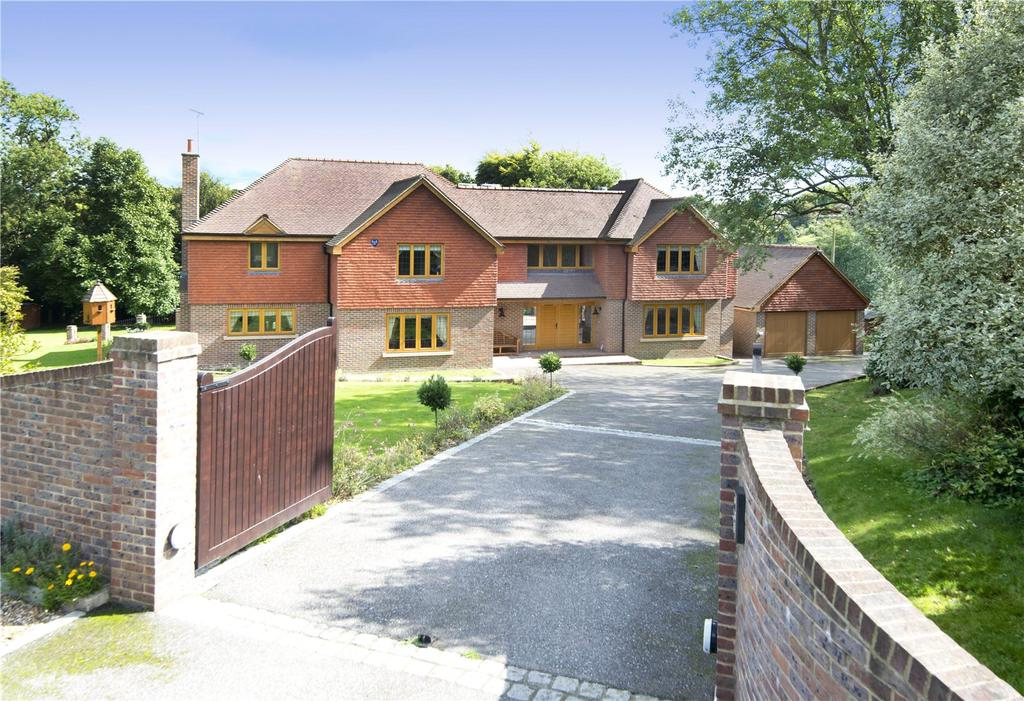 5 Bedrooms Detached House for sale in Hatham Green Lane, Stansted, Sevenoaks, Kent, TN15