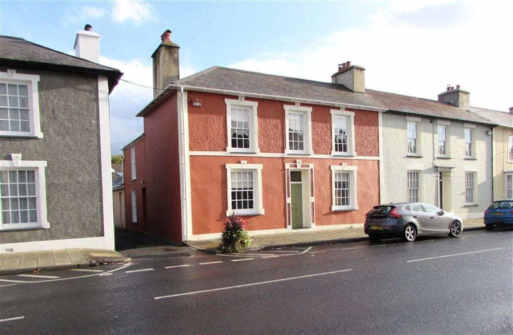 4 Bedrooms End Of Terrace House for sale in North Road, Aberaeron, Ceredigion