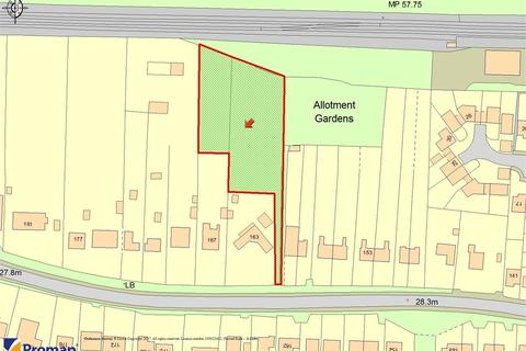 Land for sale - DEVELOPMENT SITE FOR SALE, Land behind 163 and 167 Wivenhoe Road, Alresford, Colchester, Essex