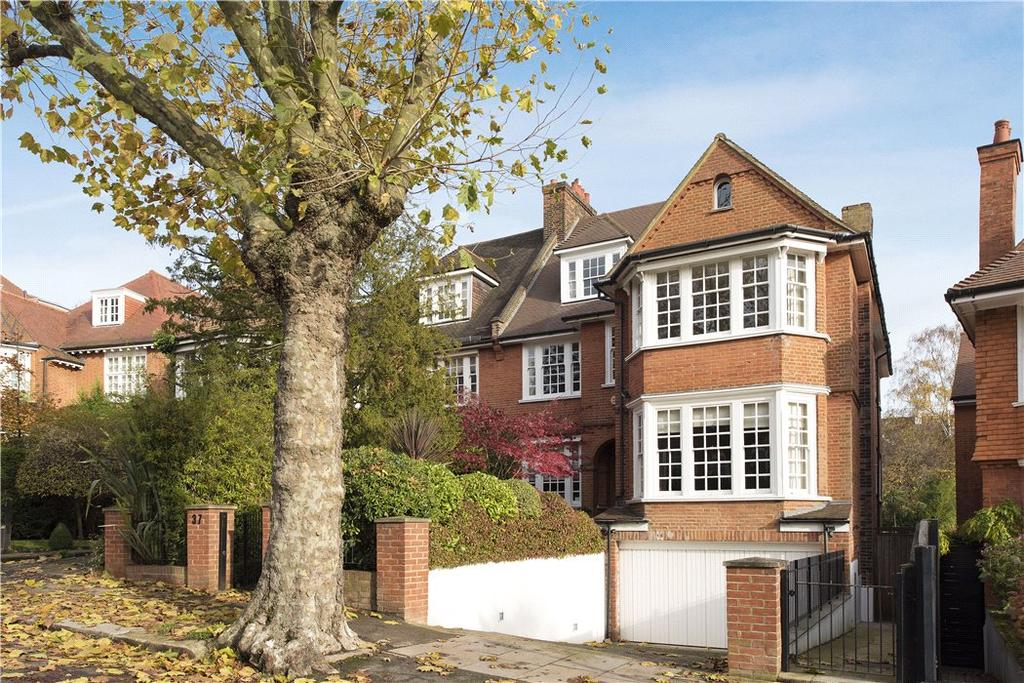 6 Bedrooms Semi Detached House for sale in Hollycroft Avenue, London, NW3