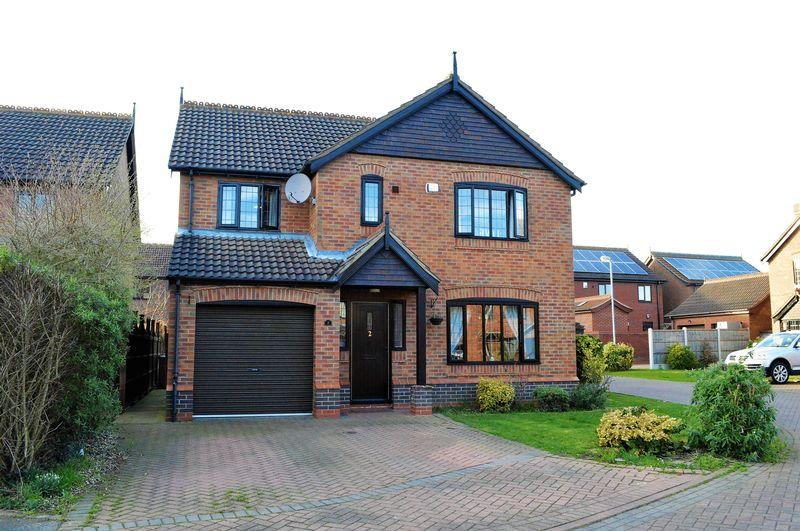 4 Bedrooms Detached House for sale in The Brambles, Barrow-Upon-Humber