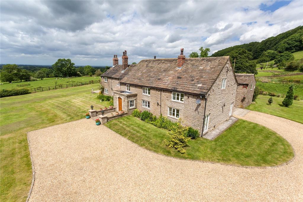 6 Bedrooms Detached House for sale in Kerridge Road, Rainow, Macclesfield, Cheshire, SK10