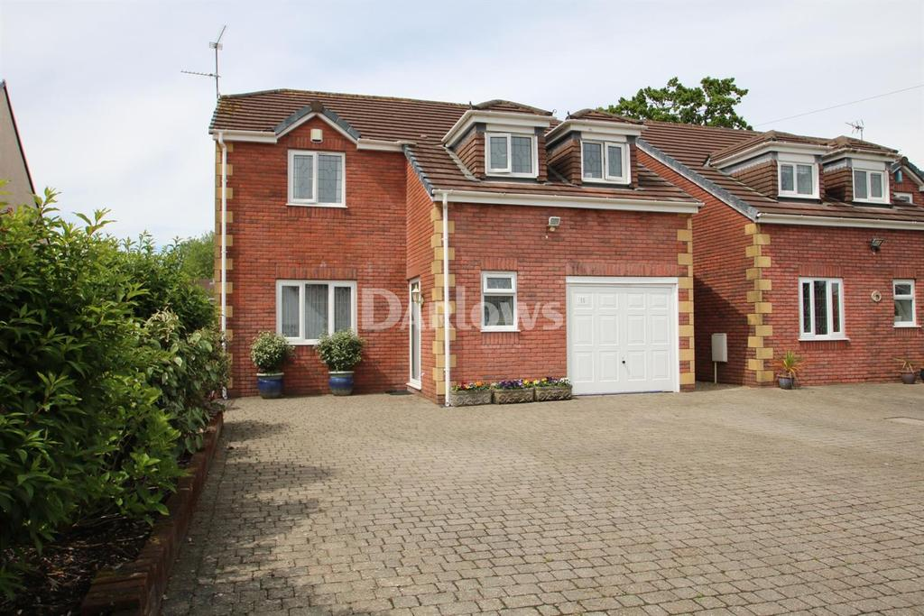 4 Bedrooms Detached House for sale in Ty Gwyn Road, Rhiwbina
