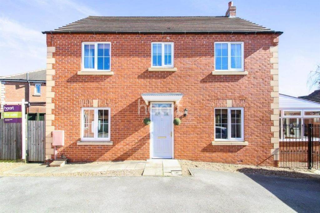 4 Bedrooms Detached House for sale in Dorrigan Close, St Georges Park, Lincoln