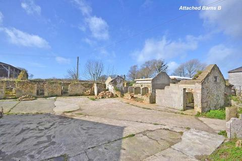 Plot for sale - Carnhell Green, Nr. Hayle, Cornwall, TR14