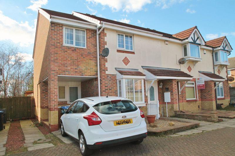 3 Bedrooms End Of Terrace House for sale in Hatherley Court, Middlesbrough