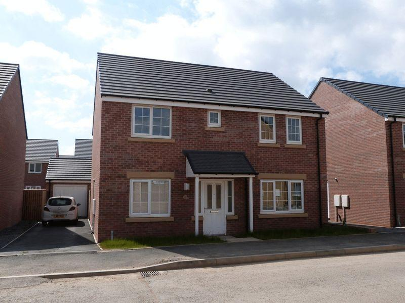 4 Bedrooms Detached House for sale in Wentworth Way, Ashington, Four Bedroom Detached House