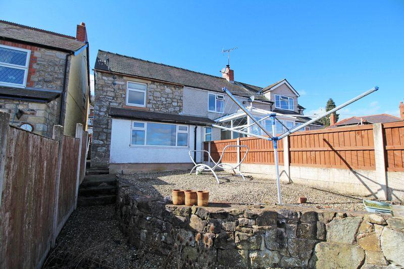 2 Bedrooms Semi Detached House for sale in Greenfields, Froncysyllte